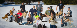 Dog T.A.G.S. veterans with service dogs