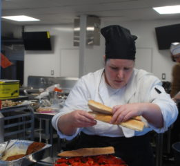 Kulanu Academy chef in new kitchen