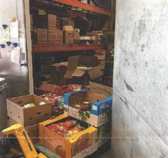 New Hope Ministries walk in freezer